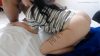 Sympathetic morning daddy!  Decoration 1 my stepdaughter wakes me appear c rise a sweetmeat blowjob - interracial littlesexyowl HD
