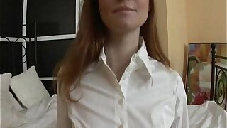 Redhead Unwrapped Anal be proper of Russian Teen