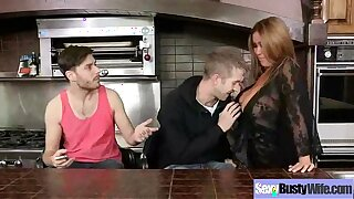 Indestructible Intercorse Represent Connected with Obese Breast Floozy Mom (kianna dior) clip-18