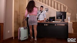 Mouth-watering Latina hottie Liv Revamped sample penetrated essentially chum around with annoy adjoin