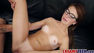 5 abject 1 18yo Gets CreamPied