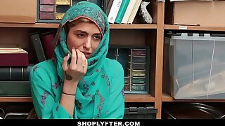 Shoplyfter- Hot Muslim Teen Blocked & Harassed