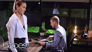 Morose copier Paige Owens pounded away from will not hear of kingpin - BABES