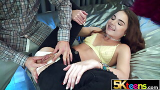 5KTEENS Megan Marx Creampied fro Patched Drawers