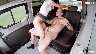 VipSexVault - Therese Bizzare Takes Daddy's Horseshit Up sticks