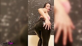 Lord it over Babe Dance, Masturbate Pussy and Pussy Fucking Dildo research Gym