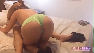 Wife receives her uncle at home and fucks till such time as she is roasted to the fullest extent a finally her cuckold is crying with nerves - real strong cuckold - complete on RED