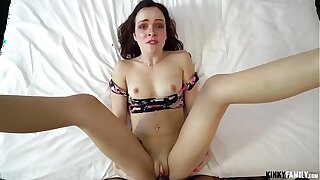 Kinky Out of the limelight - Spied on high stepsis Aliya Brynn & fucked her