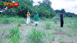 Herdsman fucks duo innocent Muslim Girls