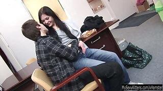 Intuit brunette teen Pascalle fucking