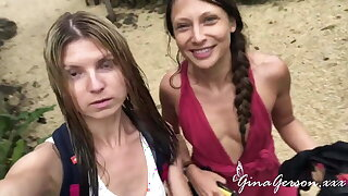 Gina Gerson and Talia Unused enjoy sexy complete b reach time