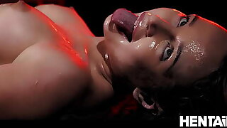 Extreme Cumflation - Hot Russian Blondie got Fucked by Aliens and Explode with respect to Cum - Kaisa Nord