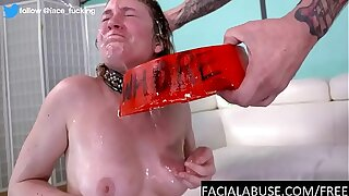 18 yo hates piss throat together with anal calumniate