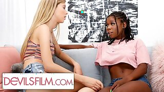 Haley Reed is Comforted By Her Sexy Lesbian Exhausted Friend